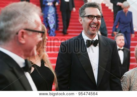 Cannes, France - May 16, 2015: director Nanni Moretti attend the 'Mia Madre' ('My Mother') Premiere during the 68th annual Cannes Film Festival on May 16, 2015 in Cannes, France.