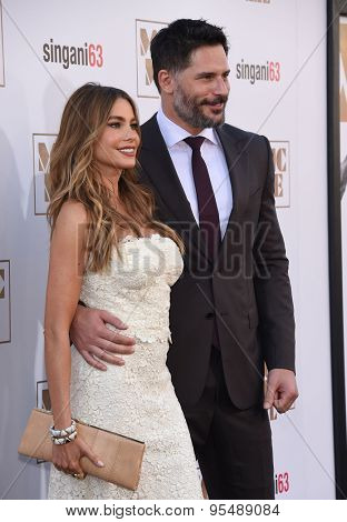 LOS ANGELES - JUN 25:  Sofia Vergara & Joe Manganiello arrives to the