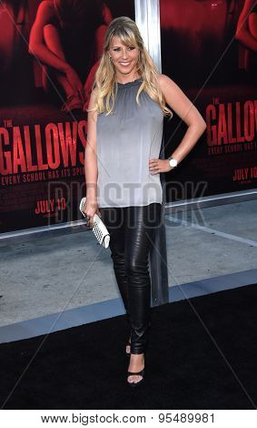 LOS ANGELES - JUL 07:  Jodie Sweetin arrives to the