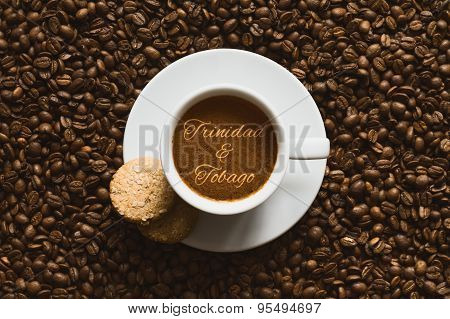 Still Life - Coffee Wtih Text Trinidad & Tobago