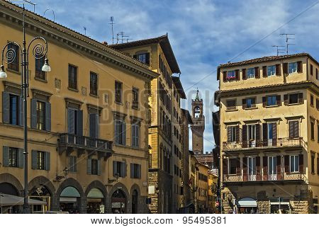 Square In Florence. Italy