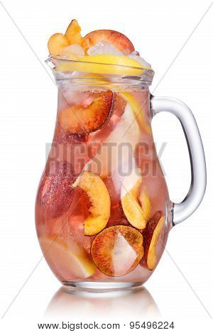 Peach Lemonade Pitcher