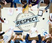 pic of honesty  - Respect Honesty Honorable Regard Integrity Concept - JPG
