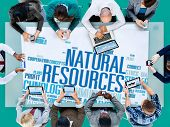 stock photo of nature conservation  - Natural Resources Conservation Environmental Ecology Concept - JPG
