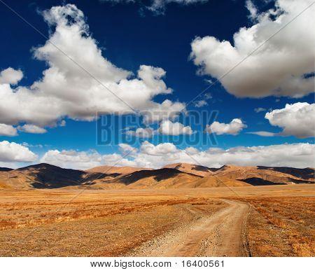 Paisaje tibetano