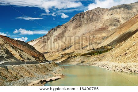Brahmaputra river, Tibet