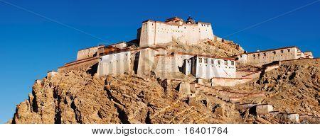 Tibetan buddhist monastery, Gyantse, Tibet