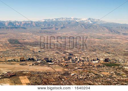 Las Vegas From The Sky
