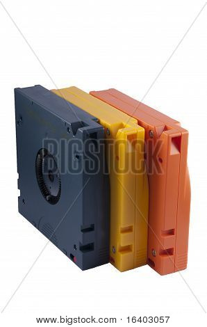 Blue, Yellow and Blue Cartridges