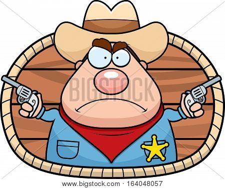 Cartoon Sheriff Icon