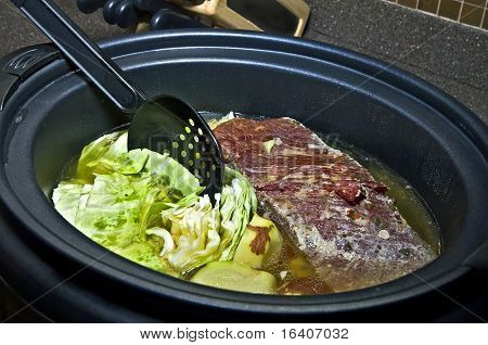 Corned Beef, Cabbage And Potatoes