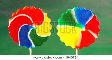 Pinwheel Candy Suckers
