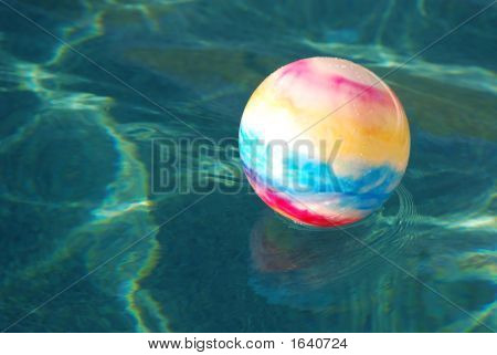 Toy Ball In Pool