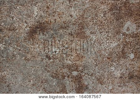 texture stone with rust close up. grunge background