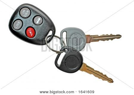 Car Keys With Keyless Entry