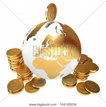 Moneybox. Global Economy