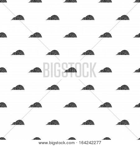 Winter gardens in Singapore pattern. Simple illustration of winter gardens in Singapore vector pattern for web