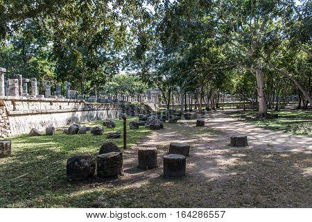 Mexico maya yucatan Chichen Itza old ruins ancient