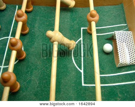 fuss ball table football beginning of