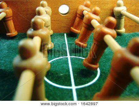 fuss ball table football beginning of