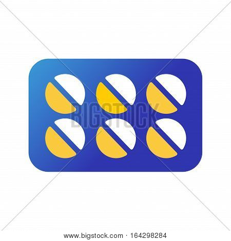 Tablets pills medicine medical on white background. Drug pharmacy care and antibiotic pharmaceutical. Healthy vitamin and prescription medicament addiction.