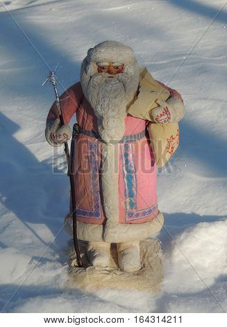 Santa Claus from the Soviet Union. 1960