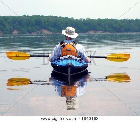 Kayak Reflection