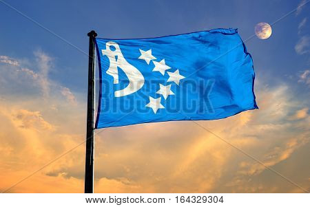 CASPIAN EMPIRE Flag, Seljuk, Flag Design and Presentation