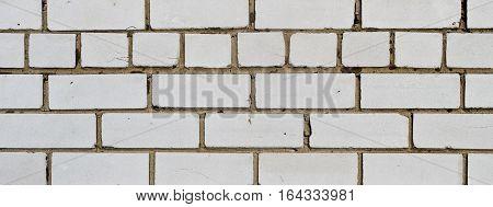 Brick, brick wall texture. Brick wall background. White brick, white brick wall.