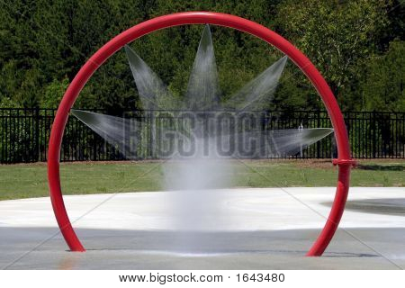 Spray de agua