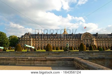 Les Invalides, commonly known as Hotel national des Invalides (The National Residence of the Invalids), Paris, France