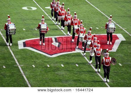 University of Wisconsin Marching Band Halftime Show