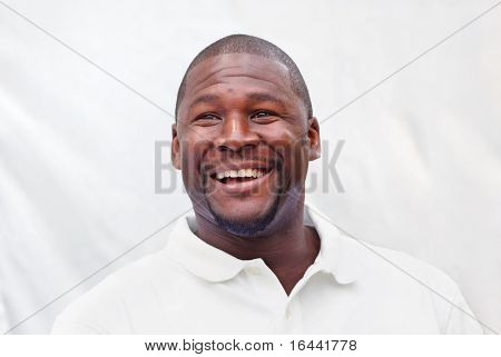 Edgar Bennett, running back coach for the Green Bay Packers at a charity event