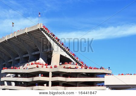 Game Day, Camp Randall Stadium, University of Wisconsin, Madison