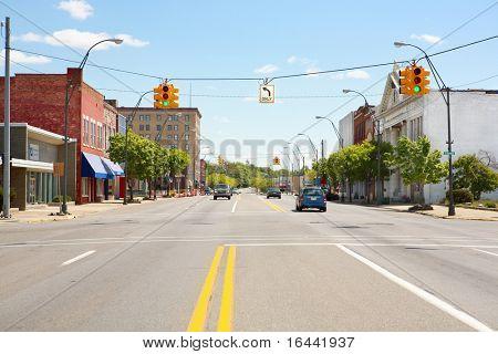 Downtown Benton Harbor, Michigan