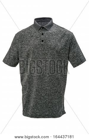 Grey and white tee shirt for man or woman on white background