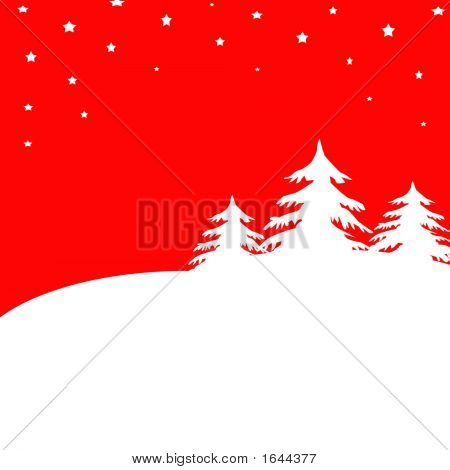 Christmas Background - 2D Illustration