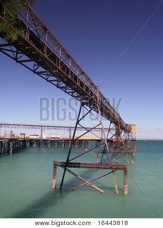 Muelle de mineral de hierro - Darwin