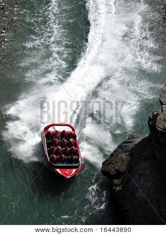 Jetboat in Queenstown NZ
