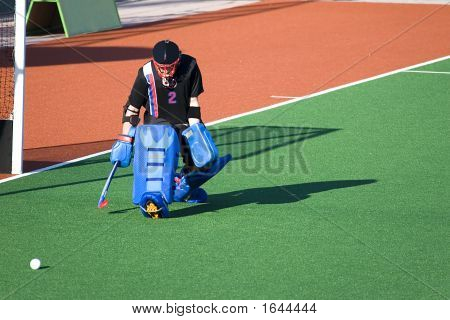 Field Hockey Goal Keeper