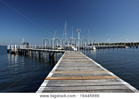 Jetty in Port Stephens
