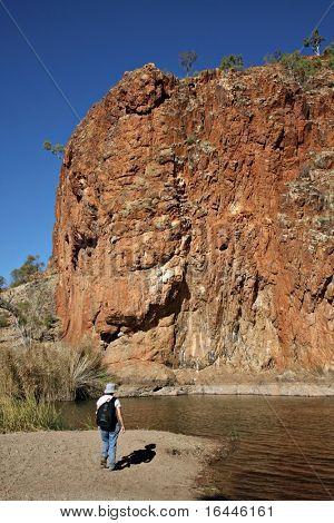 Glen Helen Gorge, NT Australia
