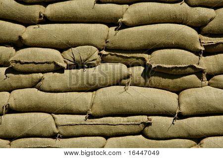 Sacos de arena