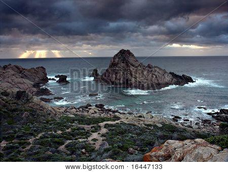 Sugarloaf Rock - Cape Naturaliste, Western Australia