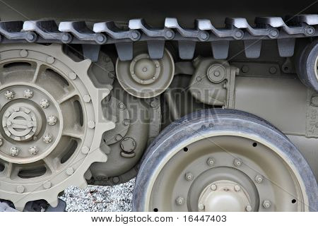 Detail of Army Tank