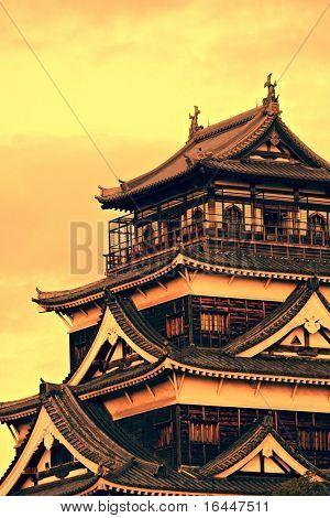 Burg Hiroshima, Japan