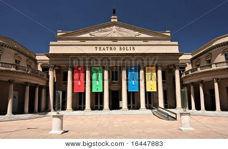 MONTEVIDEO - 15 FEB : Solis Theatre in Montevideo Uraguay on 15 February 2009.  Uraguay's oldest theatre was built in 1857 and is the oldest operating opera house in the Americas