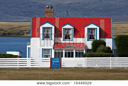 House on the Falkland Islands