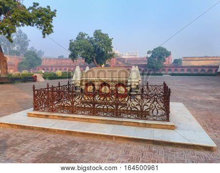 Tomb Of John Colvin In Agra Fort, Uttar Pradesh, India