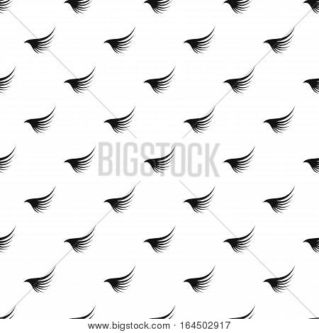 Angel wing pattern. Simple illustration of angel wing vector pattern for web